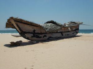 Katamaran am Koggala Beach