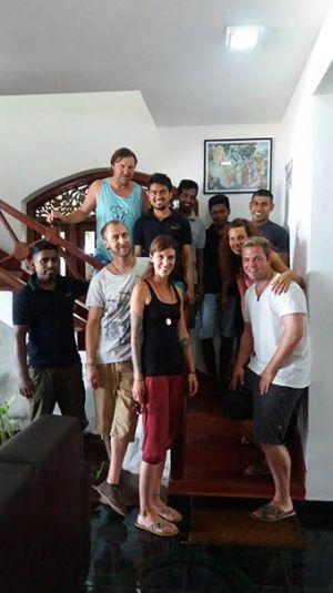Team und Gäste Wilde Ananas