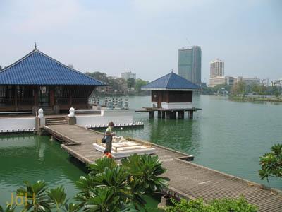 Beliebte Orte und Sehenswürdigkeiten in Colombo: Beira Lake