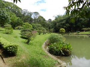 Botanischer Garten Kandy: See
