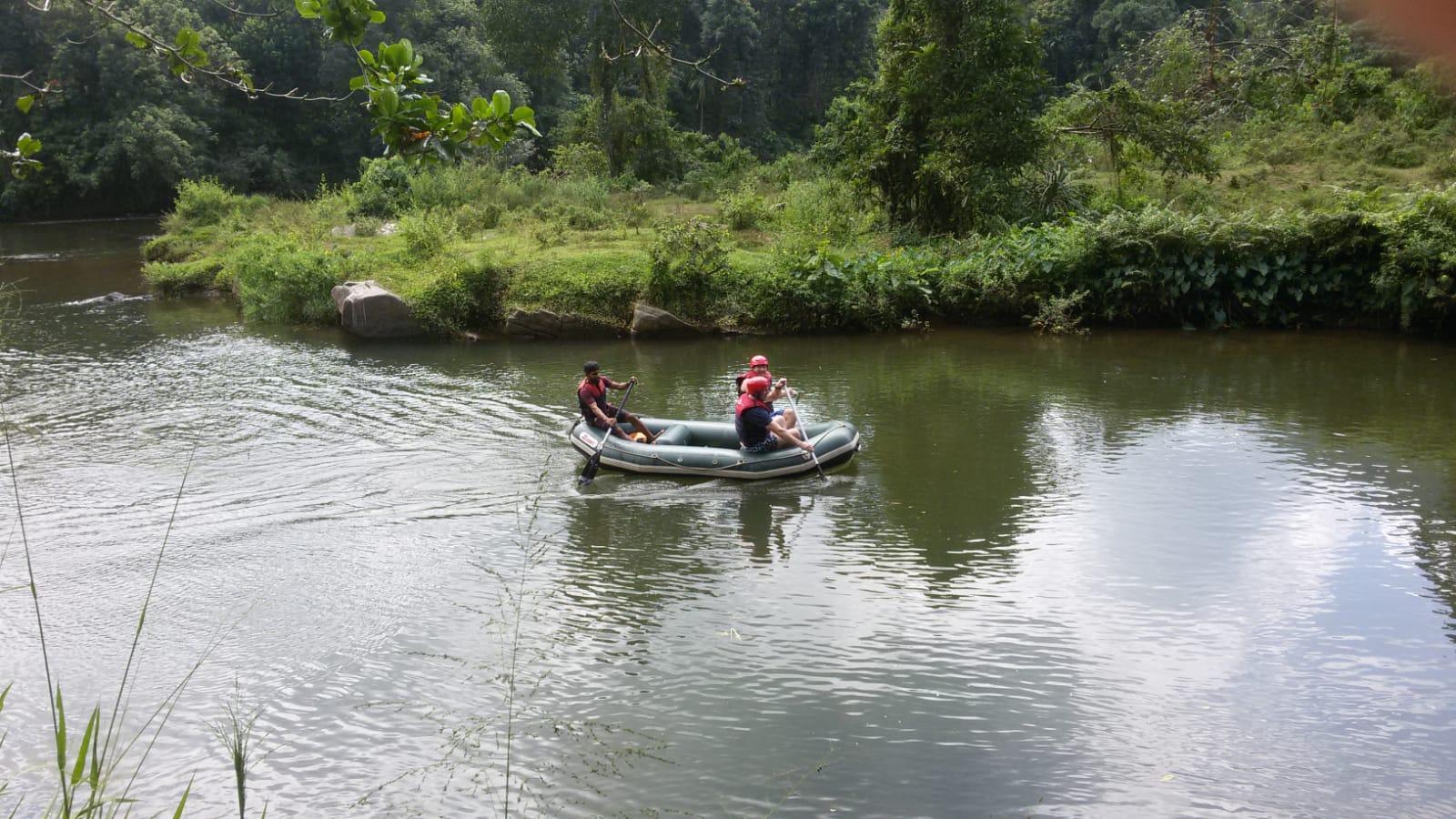 Rafting Kitulgala Sri Lanka Zieleinlauf