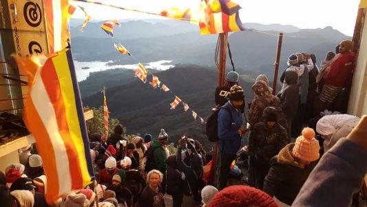 Vom Gipfel des Adams Peak