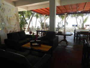 Lounge und Restaurant image  Hotel Wilde Ananas nahe Unawatuna