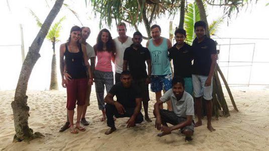 Foto Team und Gäste Haus am Meer