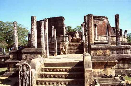 unbedingt sehen in Polonnaruwa Vatadage