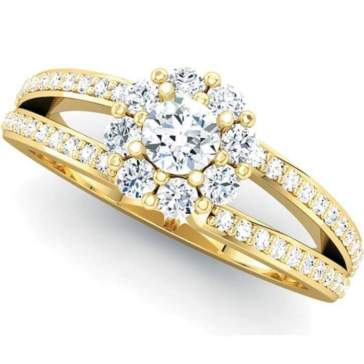 Yellow Saphrie Gold Ring