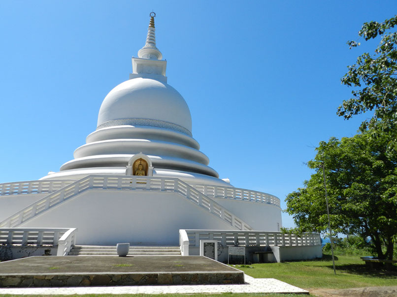 Peace Pagoda bei Galle